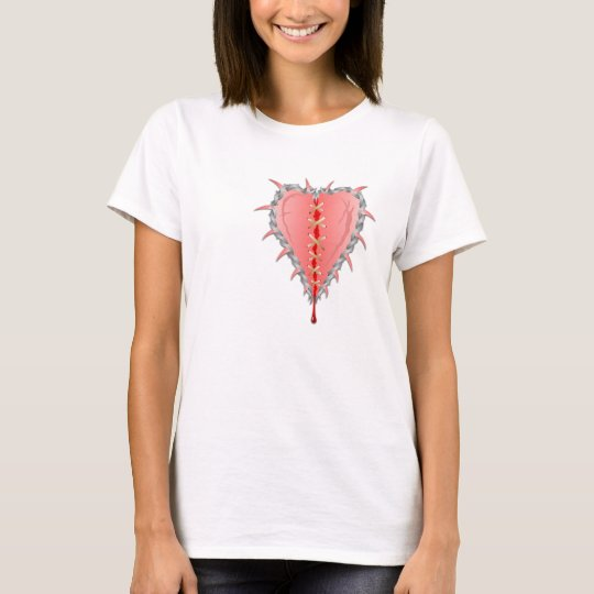 Mended Heart of Thorns, Valentine's T-Shirt