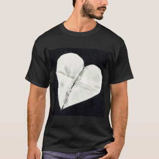 MENDED PAPER HEART: PENCIL REALISM T-Shirt
