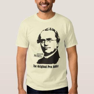 Mendel; Pea Addict T-shirts