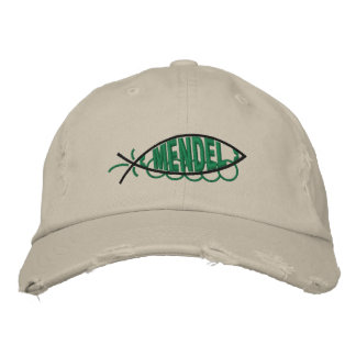 Mendel Peapod Fish Hat Embroidered Hat