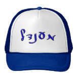 Mendel - Yiddish version of Menachem - 3d Effect Mesh Hats