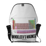 Mendeleev's Madness (Periodic Table Of Elements) Commuter Bags