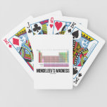 Mendeleev's Madness (Periodic Table Of Elements) Bicycle Card Decks