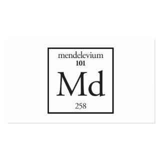 Mendelevium Business Card