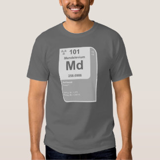 Mendelevium (Md) Shirt