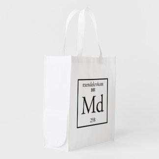 Mendelevium Grocery Bag