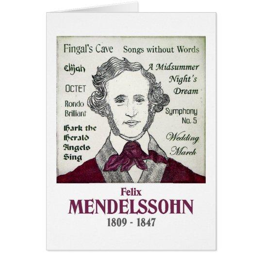 Mendelssohn Card