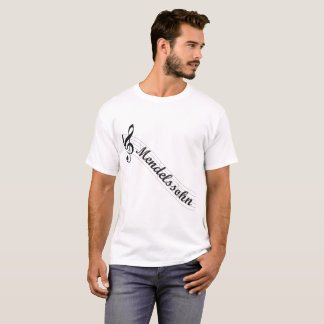Mendelssohn Classical Music Treble T-Shirt
