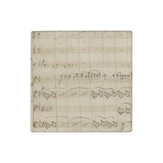 Mendelssohn Violin Concerto Original Score Stone Magnet