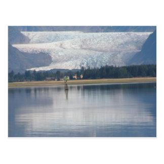 Mendenhall Glacier and Auke Lake Postcard