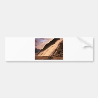 Mendenhall Glacier Falls Bumper Sticker