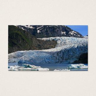 Mendenhall Glacier / Juneau Alaska Business Card