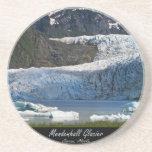 Mendenhall Glacier / Juneau Alaska Beverage Coaster