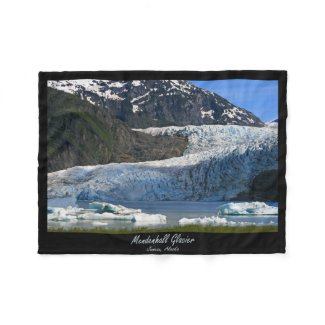 Mendenhall Glacier / Juneau Alaska Fleece Blanket
