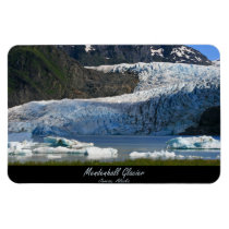 Mendenhall Glacier / Juneau Alaska Rectangular Magnet