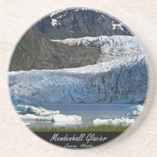 Mendenhall Glacier / Juneau Alaska Sandstone Coaster