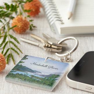 Mendenhall Glacier Keychains Acrylic Keychain