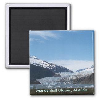 Mendenhall Glacier 2 Inch Square Magnet