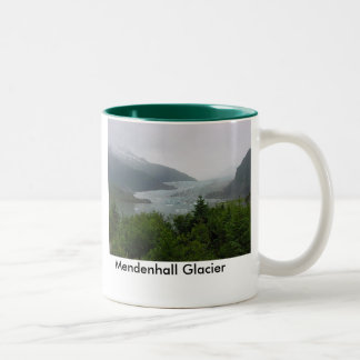 Mendenhall Glacier Two-Tone Coffee Mug