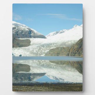 Mendenhall Glacier Plaque