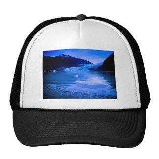 Mendenhall Glacier Twilight Mesh Hats