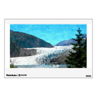 Mendenhall Glacier Wall Sticker