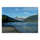 Mendenhall Lake in Juneau Alaska Card