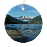 Mendenhall Lake in Juneau Alaska Ceramic Ornament