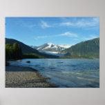 Mendenhall Lake in Juneau Alaska Poster