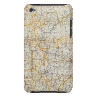 Mendenhall's Guide, Road Map Connecticut iPod Case-Mate Cases
