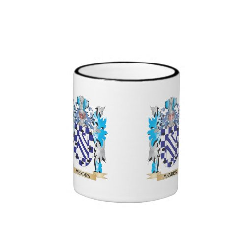 Mendes Coat of Arms - Family Crest Mugs