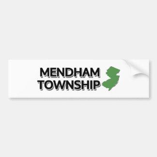 Mendham Township, New Jersey Bumper Sticker