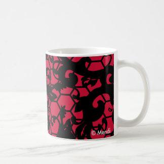 Mendi.Net Lace & Swirls Mugs