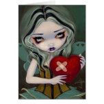 """Mending a Broken Heart"" Greeting Card"