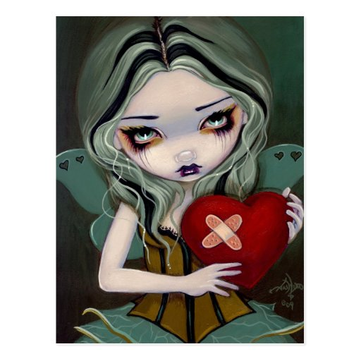 """""""Mending a Broken Heart"""" Postcard"""