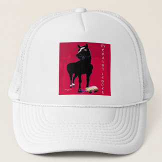 Mending Fences - Whimsical Horse Collection Trucker Hat