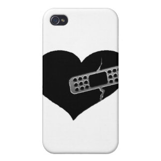 Mending Heart Cases For iPhone 4