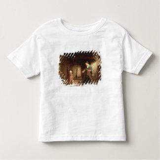 Mending the Nets (oil on panel) T-shirt