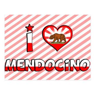 Mendocino, CA Postcard