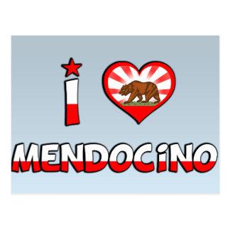 Mendocino, CA Postcards