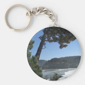 Mendocino, California Key Chain