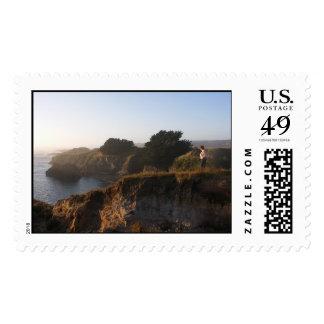 Mendocino California Stamp