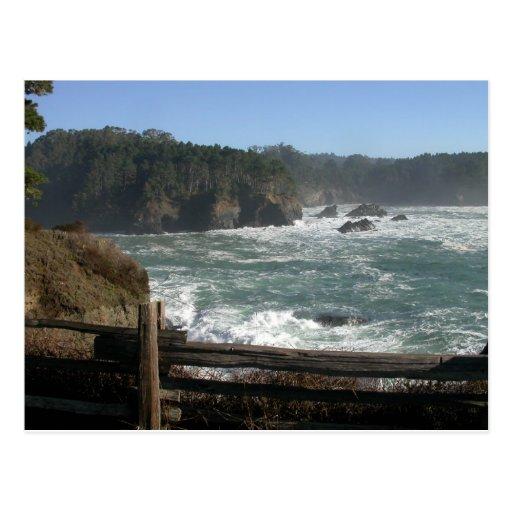 Mendocino Coast, CA Postcard