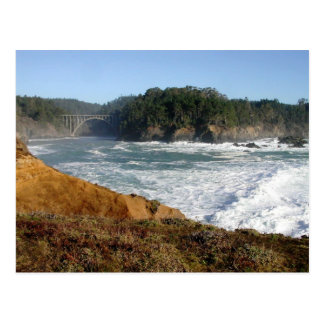 Mendocino Coast, California Postcard