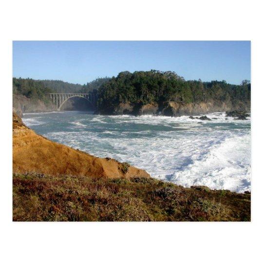 Mendocino Coast, California Postcard