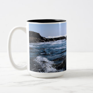 Mendocino Coast Two-Tone Coffee Mug