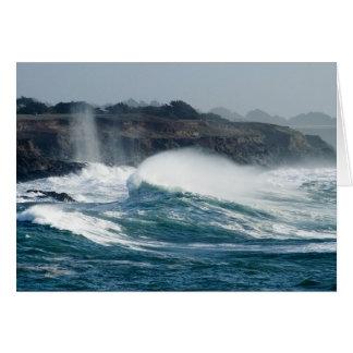 Mendocino Cove Greeting Card