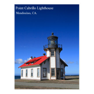 Mendocino Lighthouse Post Card