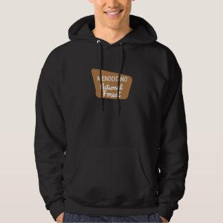 Mendocino National Forest (Sign) Hooded Sweatshirt