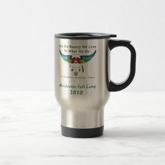 Mendocino Sufi Camp 2010 spill-proof travel mug